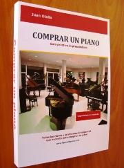 comprar un piano de ocasión. Libro con consejos para comprar un piano de segunda mano