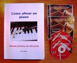 libro y videos para aprender a afinar pianos