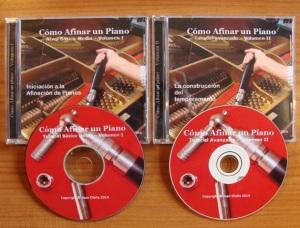 videos afinar pianos 2 cds